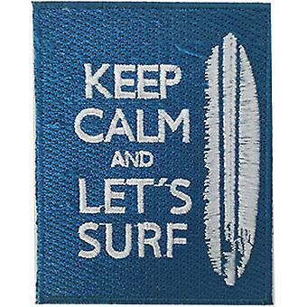 Patch - Surfing - Keep Calm Icon-On p-dsx-4837