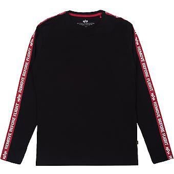 Alpha Industries Men's Long Sleeve Shirt RBF Tape