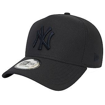 新时代可调卡车司机帽-钻石纽约洋基队