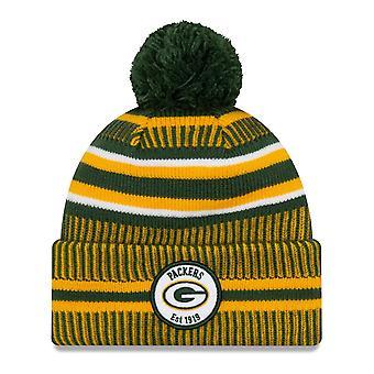 New Era Sideline Bommel Kids Youth Hat Green Bay Packers