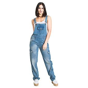 Daisy womens denim dungarees aged