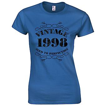 21st Birthday Gifts for Women Her Vintage 1998 T Shirt