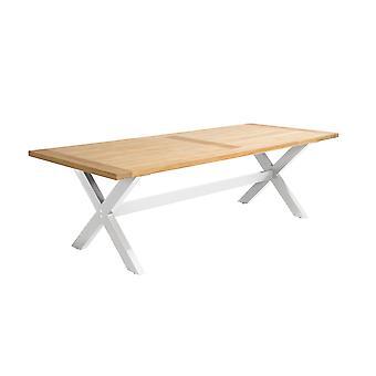Flughafen7 | Moonlight Tisch 240 x 100 x 76 |  Weiß | Gartentische