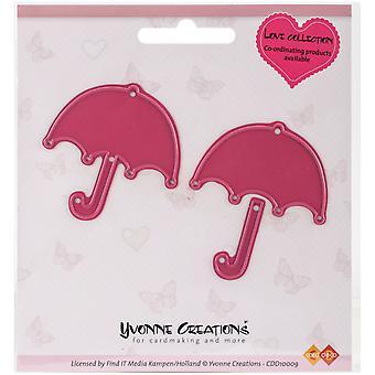 Trouvez-la Trading Yvonne créations Love Die-parapluie