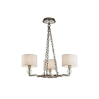 Maytoni Lighting Luxe Gold Antique Chandelier 3 X 40W