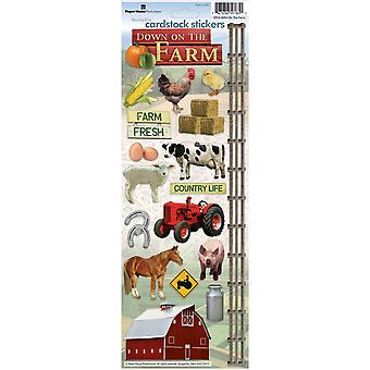 Paper House Cardstock Stickers On The Farm Stcx 94