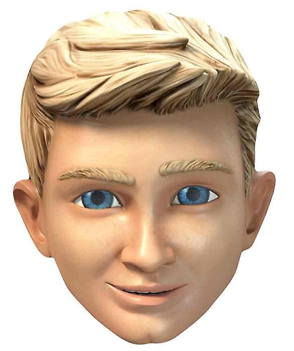 Alan Tracy Thunderbirds er gå enkelt kort Party ansigtsmaske