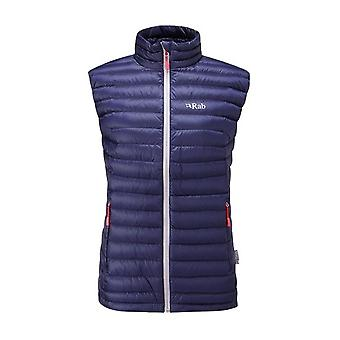 Rab Womens Microlight Vest Twilight (Size UK 12)
