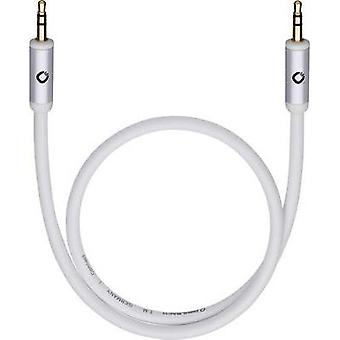 Jack lyd/phono kabel [1 x pluggen 3,5 mm - 1 x pluggen 3,5]