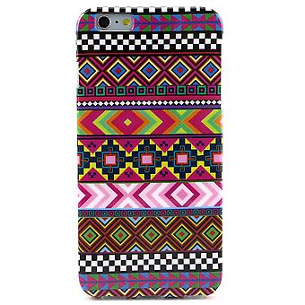Tribal geometriske gummi TPU dække for iPhone 6 Plus 5,5