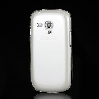 Transparent plastic cover PC to Galaxy S3 mini i8190