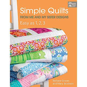 Cette Simple Place Patchwork Quilts TP-B1188