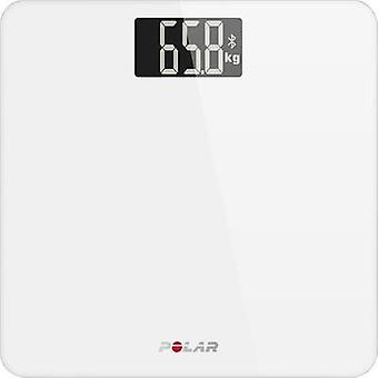 Digital bathroom scales Polar Balance Weight range=180 kg White