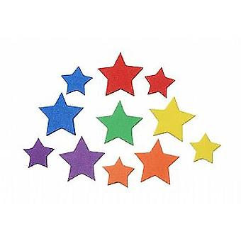 120 Star Foam Sticker Shapes for Kids Crafts | Outer Space Crafts