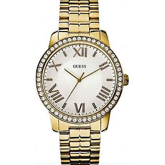 Guess Iconic Clock Model 42 mm Water Resistant 30 Mts (Mode-Accessoires , Uhren , Analog)