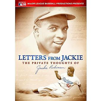 Letters From Jackie: Private Thoughts of Jackie [DVD] USA import