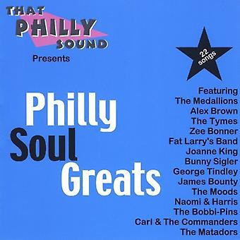 Philly Soul Greats - Philly Soul Greats [CD] USA import