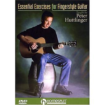 Importación de ejercicios esenciales para Estados Unidos de la guitarra de Fingerstyle [DVD]