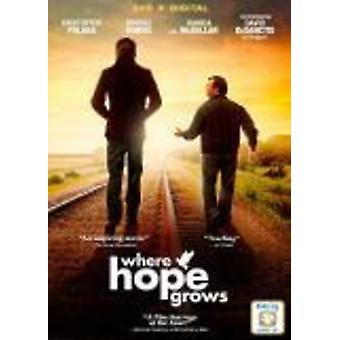 Where Hope Grows [DVD] USA import