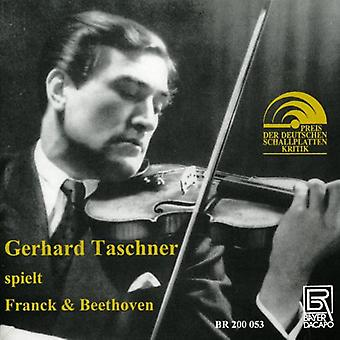 Beethoven / Franck / Taschner / Gieseking - sonater for Violin & Piano [CD] USA import