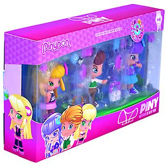Pinypon By Piny Pack 3 Figuras