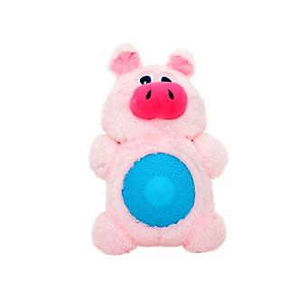 Duvo+ Plush Dog Toy With Sound Pig 27 X 16 Cm