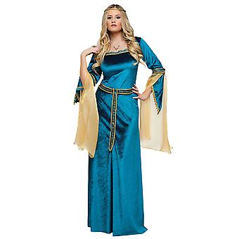 Renaissance Princess Medieval Deluxe Lady Guinevere Book Week Womens Costume