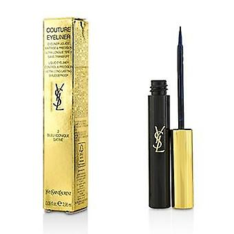 Yves Saint Laurent Couture Liquid  Eyeliner - # 2 Bleu Iconique Satine - 2.95ml/0.09oz