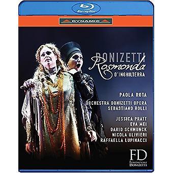 Gaetano Donizetti: Rosmonda D'Inghilterra [Blu-ray] USA importerer
