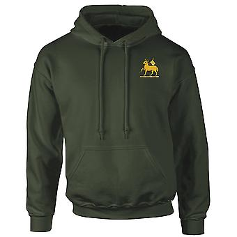 The Queens Royal Regiment Embroidered Logo - Official British Army Hoodie Hooded Sweatshirt