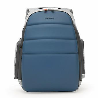 "Fedon 1919 NJ Backpack Jersey Light Blue Rucksack Zaino 15"" Laptop Notebook MacBook Blau"