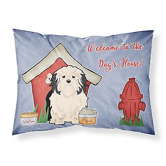 Dog House Collection Lowchen Fabric Standard Pillowcase