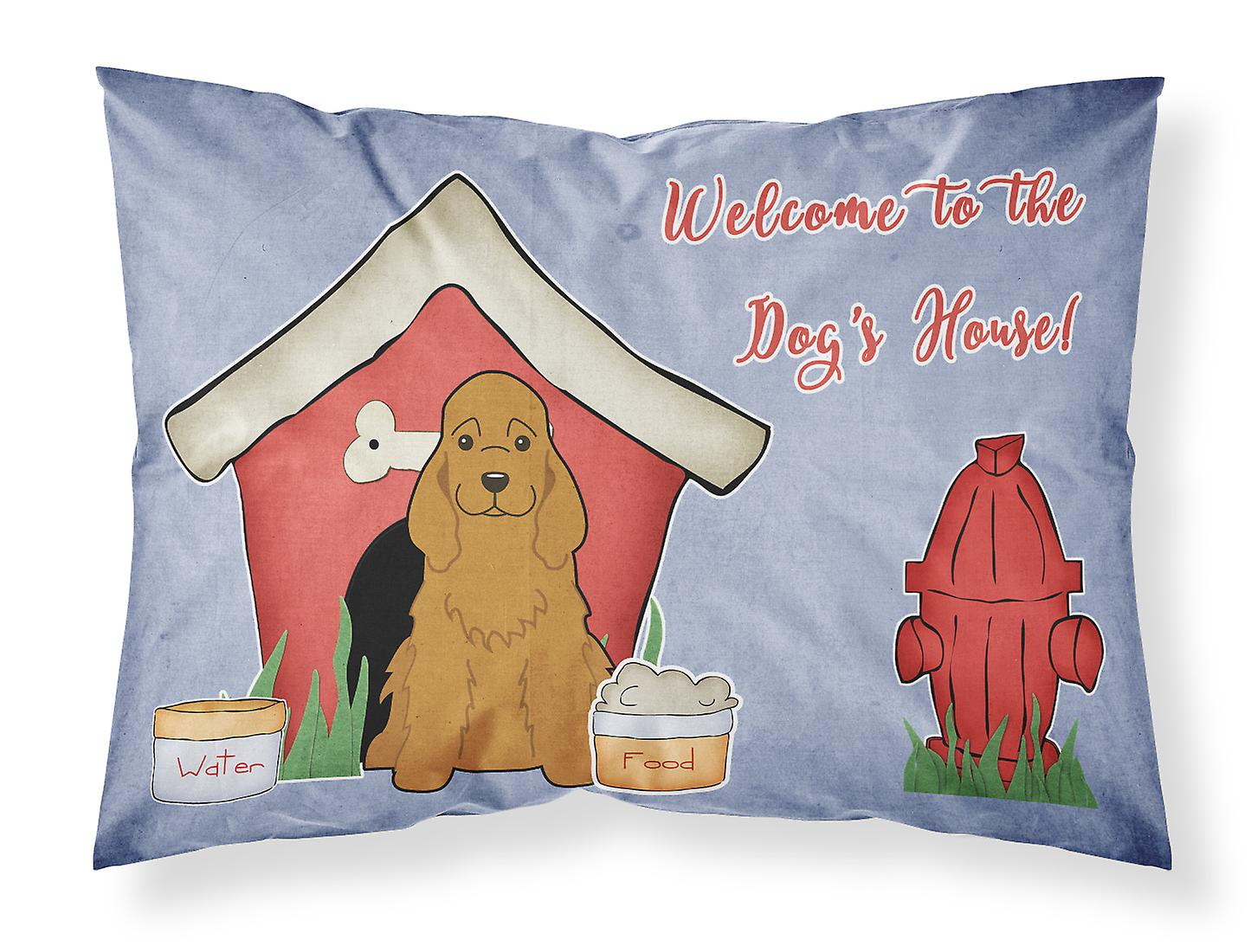 Standard Collection Dog D'oreiller House Rouge Spaniel Tissu Cocker Taie bg76fyY