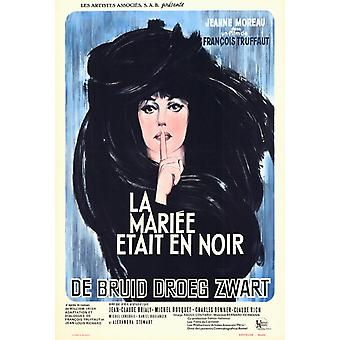 The Bride Wore Black Movie Poster (11 x 17)
