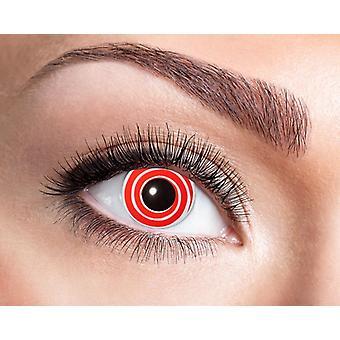 Spiral contact lenses