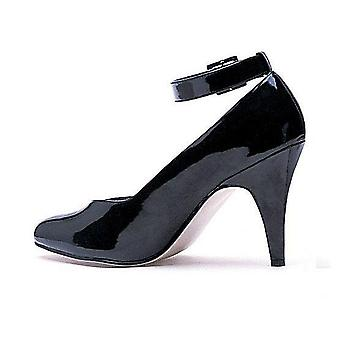 Ellie Shoes E-8241-D 4 Heel D Extra With Pump with ankle strap
