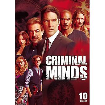 Criminal Minds: De tiende seizoen [DVD] USA import