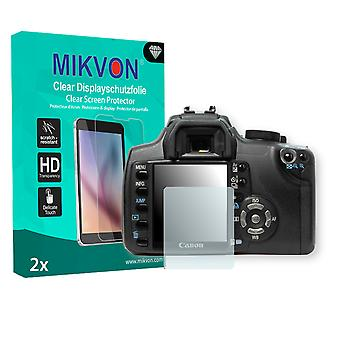 Canon EOS Rebel XT Screen Protector - Mikvon Clear (Retail Package with accessories)