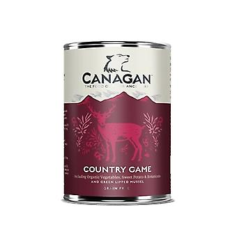 Canagan Game Wet Dog Food 400g Can - 1 X 400g