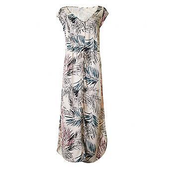 Vestido largo estampado de Saint Tropez Palm