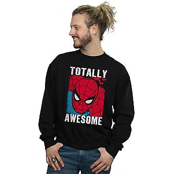 Marvel Men's Spider-Man Totally Awesome Sweatshirt