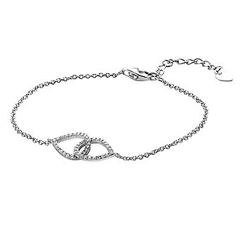 Orphelia Silver 925 Bracelet 16+3 Cm Zirconium  ZA-7050