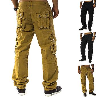 Cargo pants Jeans Loose Fit Chinos Cargo Pants Trousers Work Men Trophy