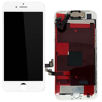 Para Apple iPhone 8 plus 5.5 pulgadas en una pantalla LCD unidad completa táctil blanco premontado (sin HB)