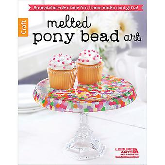 Leisure Arts-Melted Pony Bead Art