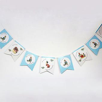 Peter Hase Girlanden Girlande Hop Little Bunny 3m Party Dekoration
