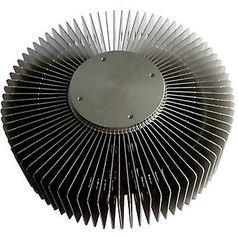 Column heat sink (Ø x H) 121 mm x 55 mm QuickCool QL-12156AL-40S