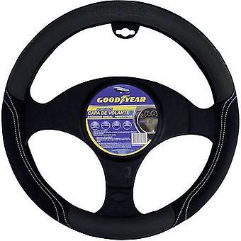 Steering wheel cover Black 37 - 39 cm Goodyear Style