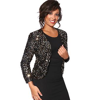KRISP Full Sleeve Sequin Jacket