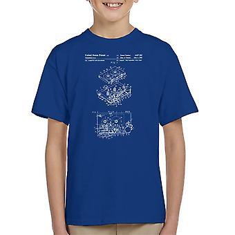 Sony Walkman Patent Blueprint Kid's T-Shirt